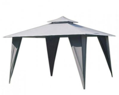 Kerti sátor HFL001-PA szürke 3,5 x 3,5 m