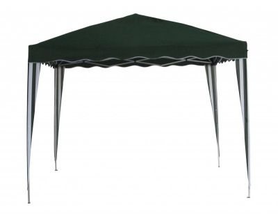 Kerti sátor F002-PL 3 x 3 m - zöld